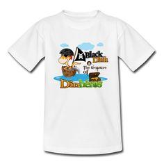 Tee Shirt Bébé Dinosaure Pirate - Tee shirt Enfant Coffre Tresor 337da092103