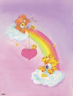 Care Bears: Friend Bear and Birthday Bear Vintage Cartoon, Vintage Toys, Retro Toys, Care Bear Tattoos, Care Bears Vintage, Cartoon Tattoos, Bear Wallpaper, Bear Art, 90s Kids
