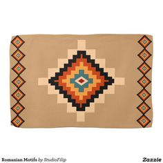Romanian Motifs Towels