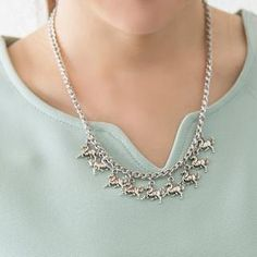 Horse Necklace from #YesStyle <3 D.P-Shop YesStyle.co.uk