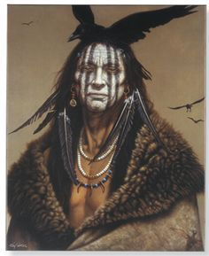 """I Am Crow"" ...Native American beauty...awesome."