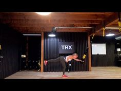 TRX Live | Lower Body Strength | Ami McMullen - YouTube