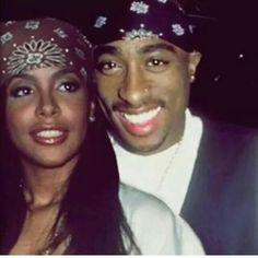 Aaliyah  Tupac Shakur