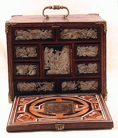Miniature Collector's Cabinet  After a composition by Bernard Salomon  (born 1506 –1510, died 1561)