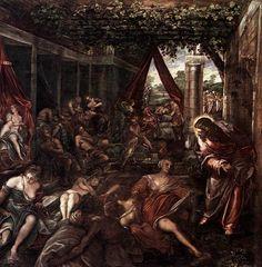 Probatica Piscina, 1579-1581 - Tintoretto