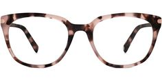 Maeve Eyeglasses in Blush Tortoise for Women. Maeve's round lenses and sloping shape are only enhanced by a custom metal end piece with an integrated hinge—a wraparound accent only found in our limited-edition Epigraph Collection. Glasses For Round Faces, Glasses For Your Face Shape, Cute Glasses, Glasses Frames, Warby Parker Glasses, Rose Colored Glasses, Fashion Eye Glasses, Womens Glasses, Custom Metal