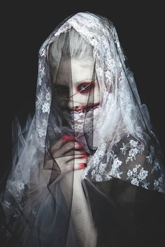 """Danse Macabre"" series by Creative Director: Casey Cooper / Photographers: Aaron Simpson & Eliza Kinchington"