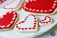 Valentine's Sugar Cookies – Rated G, PG, & PG-13