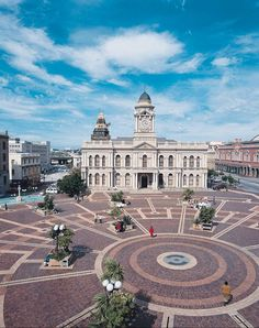 City Hall with what used to be the market square in the foreground, Port Elizabeth, South Africa. Pretoria, Primates, Monuments, Port Elizabeth South Africa, Safari, Namibia, Surfer, Africa Travel, Adventure Is Out There