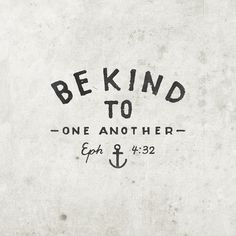 be kind//