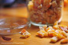 Wo geht's zum Gemüseregal: Orangeat - selbst gemacht