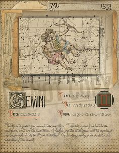 7 pages set about GEMINI Astrological Sign Correspondences. They are an ideal addition to your own Wicca Book of Shadows. Zodiac Signs Gemini, Astrology Zodiac, Astrology Signs, Horoscope, Astrological Sign, Gemini Sign, Hogwarts, Wicca Witchcraft, Wiccan