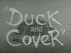 Official 1951 American Civil Defense film, geared towards children, portraying the act of ducking and covering by BERT THE TURTLE.