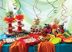 Carnival themed party.
