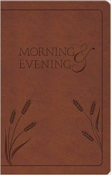 Spurgeon's Morning and Evening Devotionals; free online: http://www.spurgeon.org/daily.htm