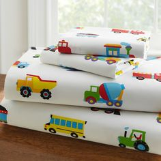 Little People's Cove - Olive Kids Trains, Planes, Trucks Toddler Sheet Set, $41.99 (http://www.littlepeoplescove.com/kids-bedding/toddler-sheet-sets/wildkin-olive-kids-trains-planes-trucks-toddler-sheet-set)