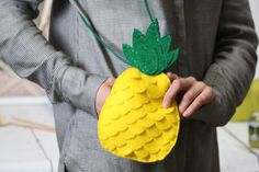 We love a quirky make, and what better than a trendy pineapple-inspired one? Felt is a fantastic material to work with, and it's so forgiving that you don't have to be worried about making a mistake. You'll feel so proud when people ask where you got your pineapple bag from!