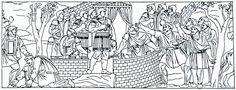 105 De onderwerping van de Daciërs aan Trajanus.