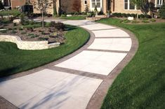 porches, sunrooms, patios and pool Stamped Borders, Stamped Bands Concrete Walkways Action Concrete Stamped Concrete Driveway, Concrete Patio Designs, Concrete Driveways, Backyard Patio Designs, Yard Design, Patio Ideas, Walkway Ideas, Pergola Ideas, Driveway Design