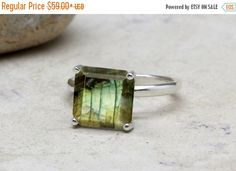 SUMMER SALE - Labradorite ring,square gemstone ring,bridal ring,silver ring,sterling ring,solitaire rings,cocktail ring,stackable r by AnemoneUnique on Etsy https://www.etsy.com/listing/294782751/summer-sale-labradorite-ringsquare