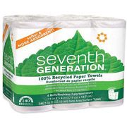 Seventh Generation 100 Percent  Recycled Paper Towel With Right Size, 6pk  #WalmartGreen