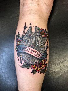 Nerdy Tattoos, Unique Tattoos, Leg Tattoos, Body Art Tattoos, Sleeve Tattoos, Tatoos, War Tattoo, Sick Tattoo, Star Wars Tattoo