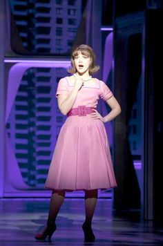 Rose Hemingway as Rosemary Pilkington in How To Succeed In Business Without Really Trying 2011 Broadway Revival