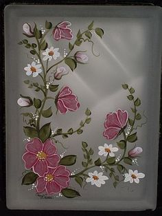 Designs by Cheryl Skalski-Hand Painted Glass Blocks  Beautiful work :~D: