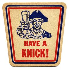 Knickerbocker Beer Coaster.  Jacob Ruppert Co., NYC