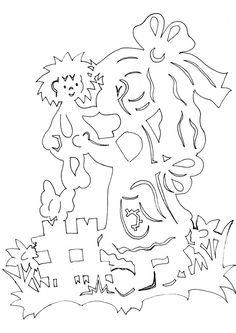 jarni-vystrihovanky-holka-s-panenkou.jpg (724×1024)