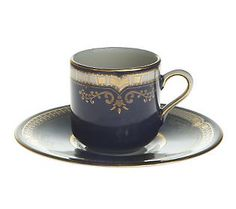 Titanic Replica 1st Class Porcelain Teacup...I bought this several years ago...a cherished piece from the Titanic.