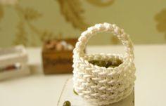 Dollhouse miniature basket crochet basket 1 12 by DewdropMinis Dollhouse Miniatures, Baskets, Buy And Sell, Crochet, Handmade, Stuff To Buy, Crochet Hooks, Hand Made, Doll House Miniatures