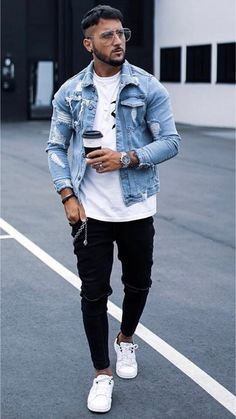 ff3075fb6690 20 Awesome street style outfits!   si in 2019   Pinterest   Mens ...