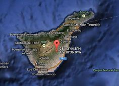 Terremoto Arico Tenerife