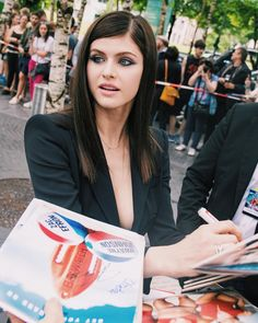 "- alexandra daddario updates (@teamalexdaddario) on Instagram: ""Alexandra at the Berlin premiere of Baywatch 