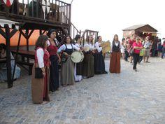 Grupo de cantares do mercado.