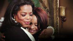 Oprah and Bobbi Kristina. Wow. It's really happening!