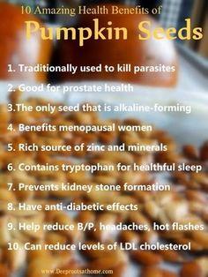 BIO E® World: 10 amazing health benefits of Pumpkin seeds