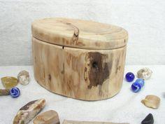 Cypress Tree Branch Wood Box wooden jewelry box by earnestefforts, $47.00