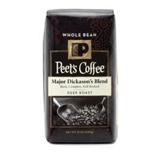 Peet's Coffee Whole Bean, Major Dickason's Blend #AmazonGrocery