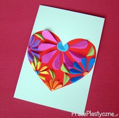 Toddler Crafts Mothers Day, Diy And Crafts, Arts And Crafts, Christmas Card Crafts, Wreath Crafts, Mothers Day Cards, Kids Cards, Cards Diy, Spring Crafts