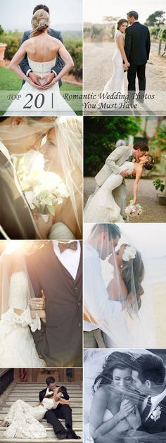 Top 20 Romantic Wedding Photos You Must Have