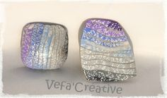 Picture tute for degraded metallic crackle.  #Polymer #Clay #Tutorials