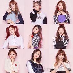 I'm once l love twice korean girl group Nayeon, Kpop Girl Groups, Korean Girl Groups, Kpop Girls, K Pop, Twice Knock Knock, Snsd Yuri, Twice Group, Justin Bieber