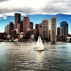 The Boston habah ( harbor )