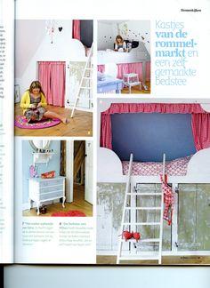 ... of bedstee on Pinterest  Bunk Bed, Kids Rooms and Sleeping Nook