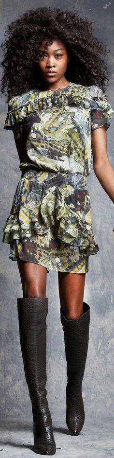 Pam & Gela - RTW Fall Safari Chic, Pam & Gela, Pin Up, Personal Style, Cool Outfits, High Neck Dress, Style Inspiration, Fall, Cute