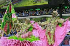 Porta bandeira- Mangueira 2014 carnival