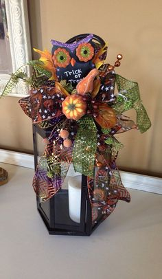 Halloween Decoration Swag for Lantern by RefreshwithStyle on Etsy