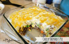cheesy shepherds pie recipe- turned out great! You must try & keep this recipe!